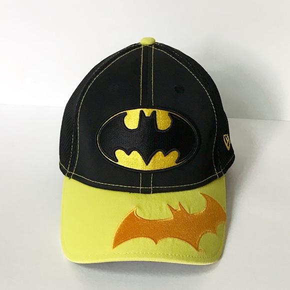 bf60a9e5646 New Era Batman 39THIRTY Hat. M 5b81c0ecd6716a0bcc627685